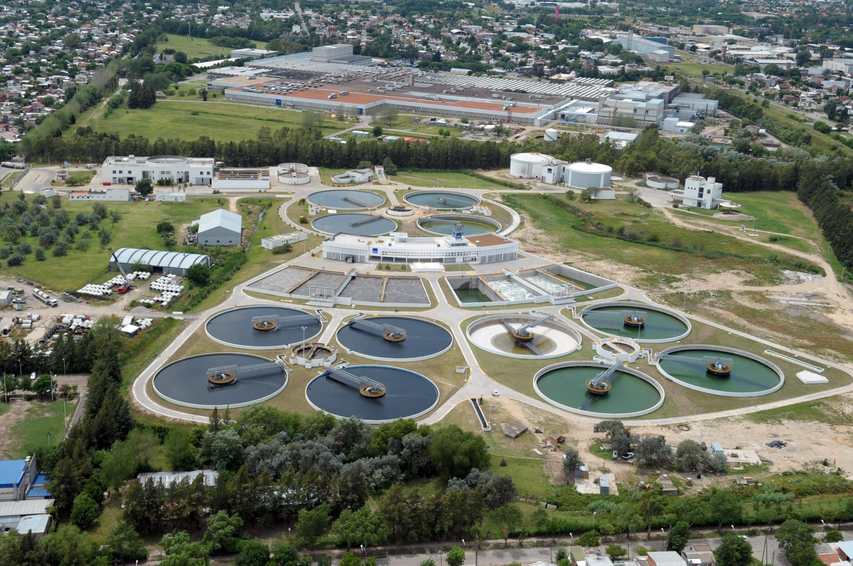 Resultado de imagen para Rehabilitación y Optimización de Plantas de Tratamiento, y Extensión de Redes en el Área Metropolitana de Buenos Aires.
